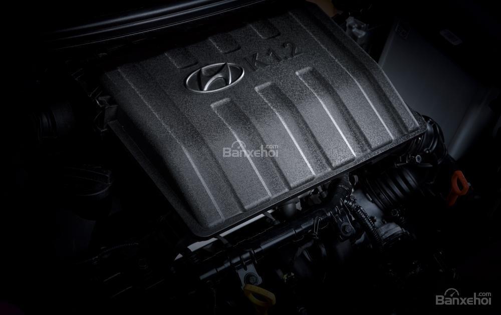 Ảnh chụp động cơ của Hyundai Grand i10 a96