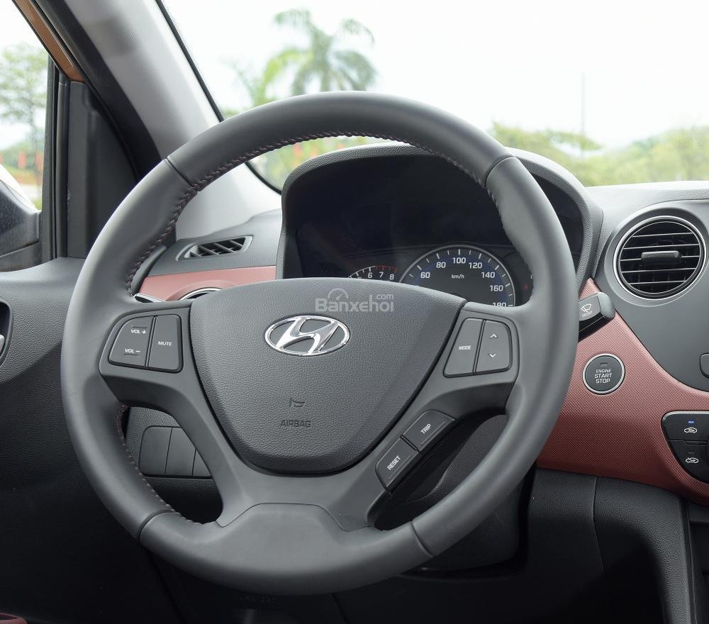 Hình ảnh vô-lăng của Hyundai Grand i10 a45