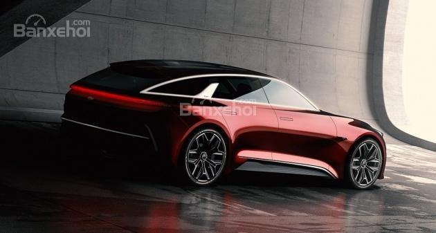 ô tô Kia Proceed Concept nhìn từ góc phần tư thứ III