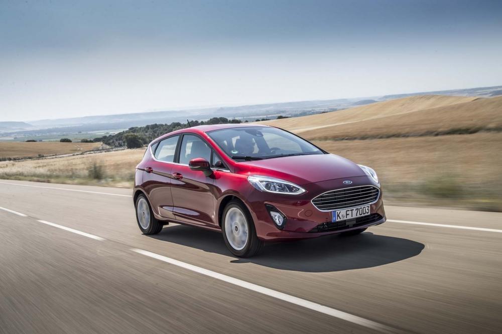 Trải nghiệm lái Ford Fiesta 2018 thể hiện rõ sự khác biệt so với thế hệ hiện hành.