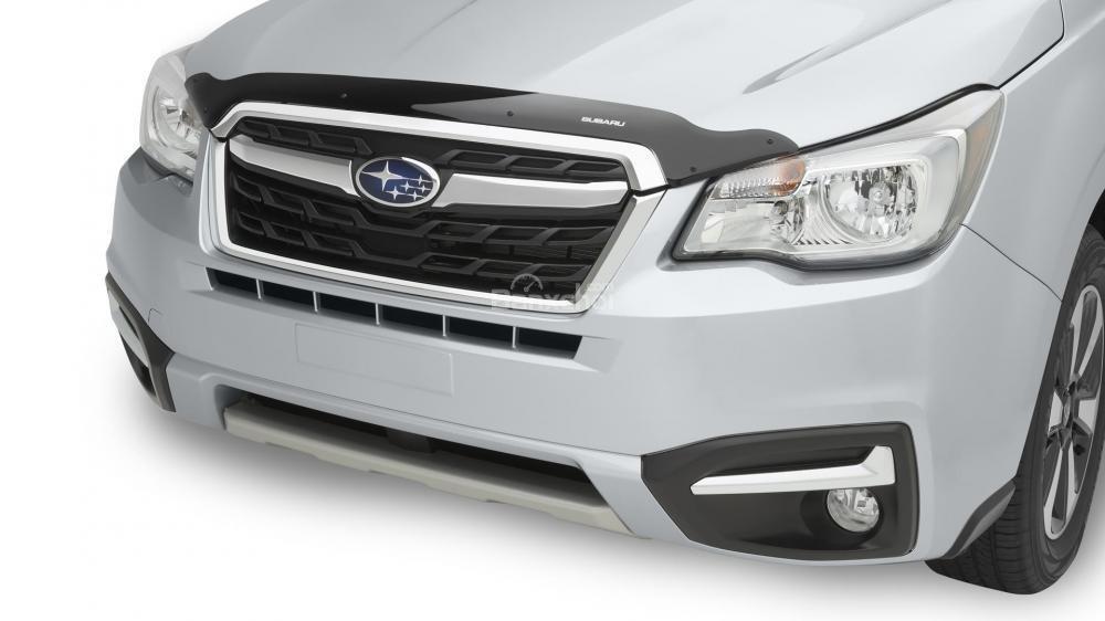 Đánh giá xe Subaru Forester 2017: Nắp ca-pô được thiết kế thêm những đường nét cá tính