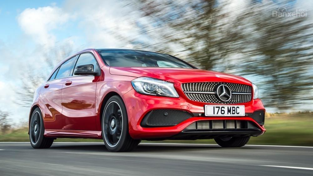 Mercedes-Benz A-Class có kích thước nhỏ gọn