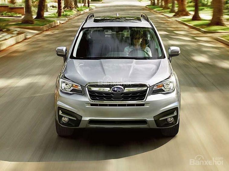 Đánh giá Subaru Forester 2017 về thiết kế đầu xe