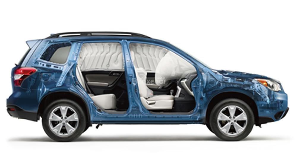Subaru Forester 2017 được đánh giá là một chiếc xe có độ an toàn cao