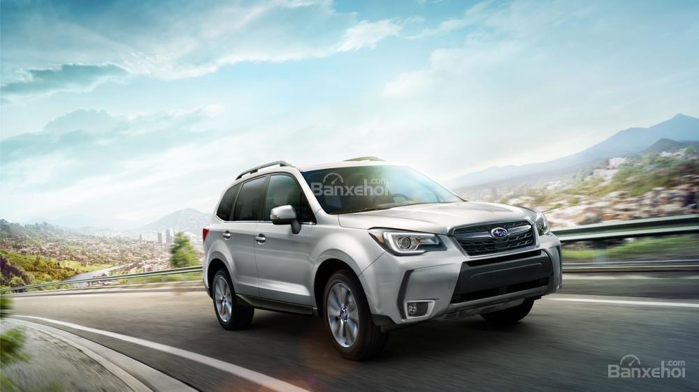 Subaru Forester 2017 được trang bị đầy đủ tiện nghi