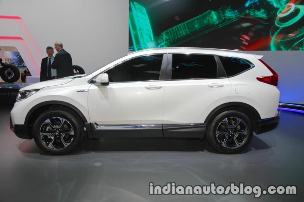 Honda CR-V Hybrid Prototype xuất đầu lộ diện tại triển lãm Frankfurt 2017 a3
