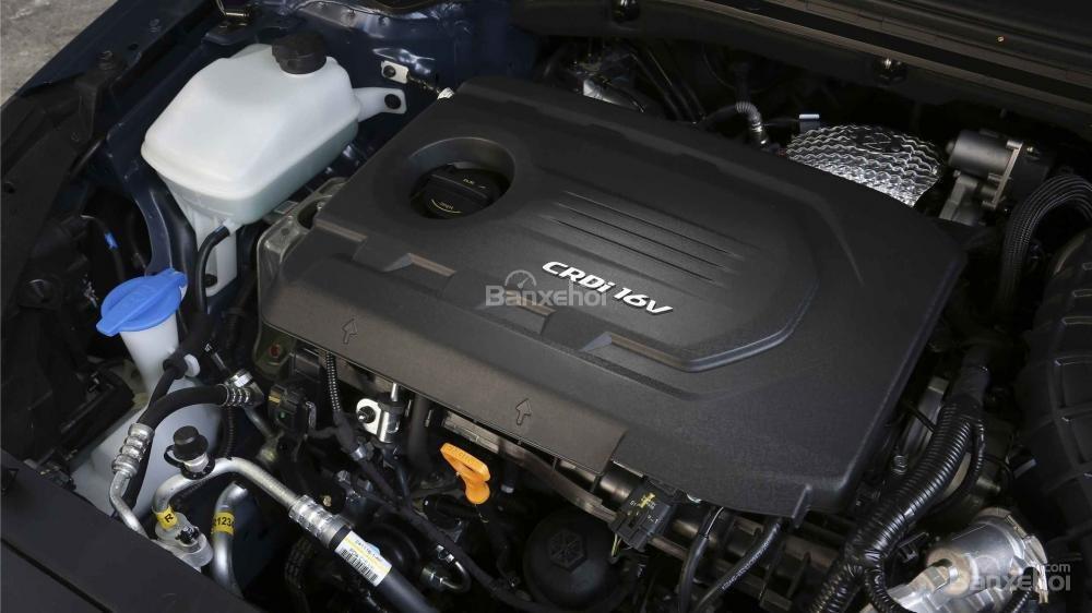 Động cơ xe Hyundai i30 2017