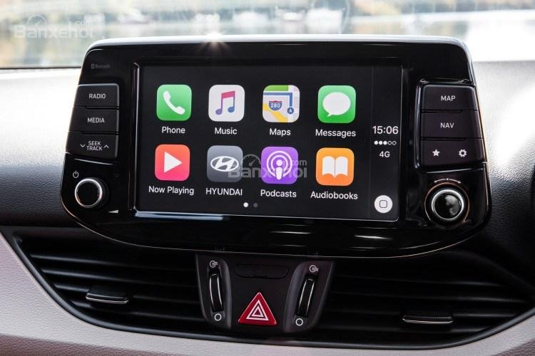 Màn hình cảm ứng xe Hyundai i30 2017