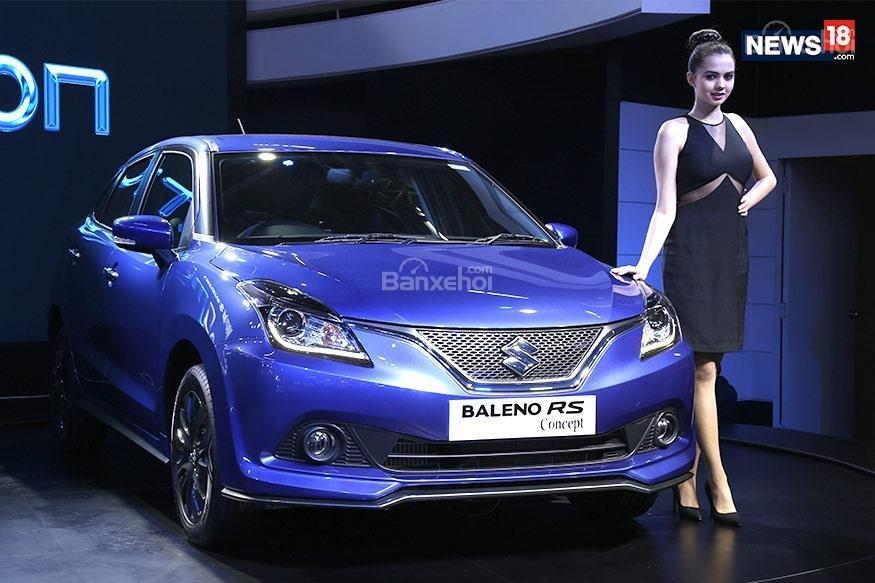 ô tô Suzuki Baleno màu xanh