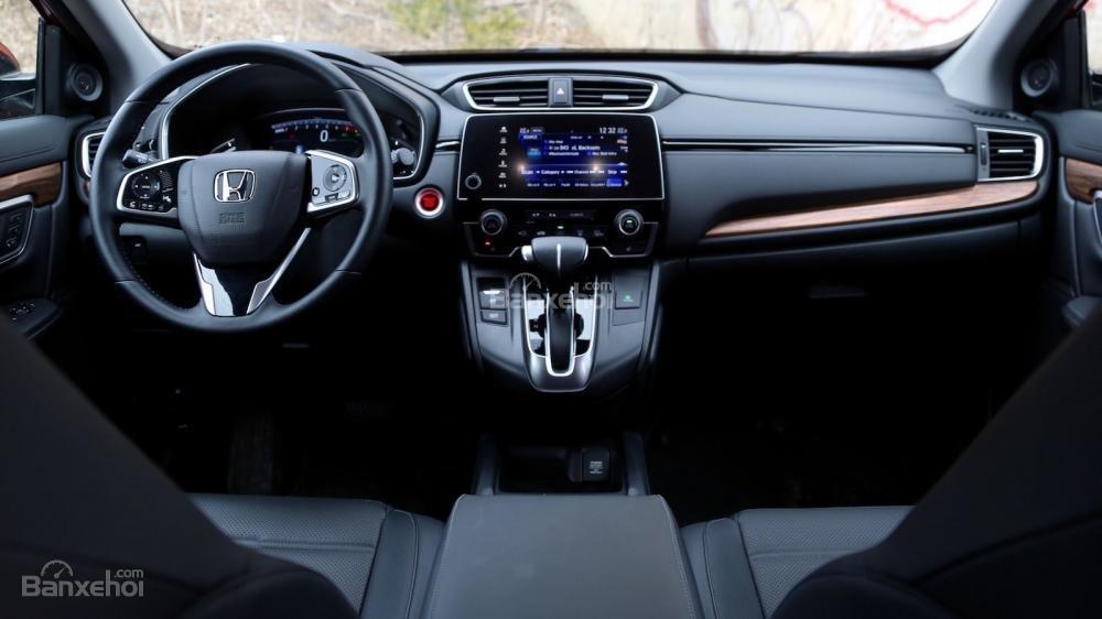 Thiết kế nội thất Honda CR-V 2017 bắt mắt hơn hẳn đối thủ Hyundai Tucson 2017 a1