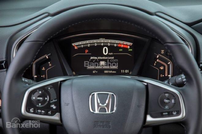 Đồng hồ lái phá cách trên Honda CR-V 2017