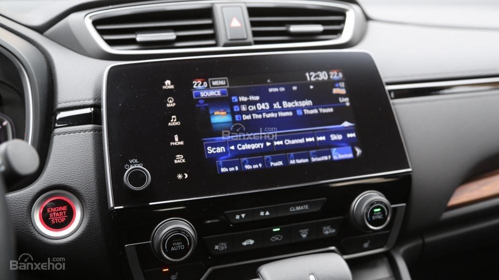Màn hình cảm ứng Honda CR-V 2017