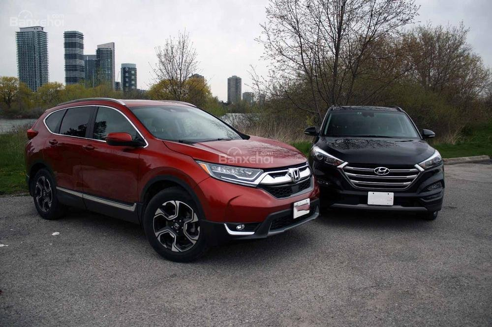 So sánh xe Honda CR-V 2017 và Hyndai Tucson 2017 về động cơ,