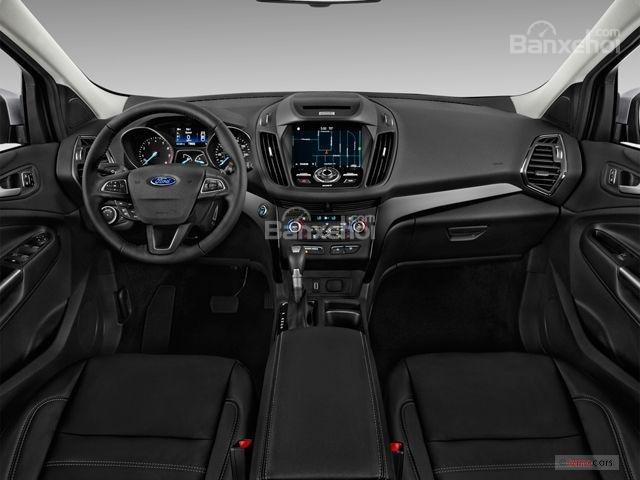 Nội thất của Ford Escape 2018 được đánh giá cơ bản tốt