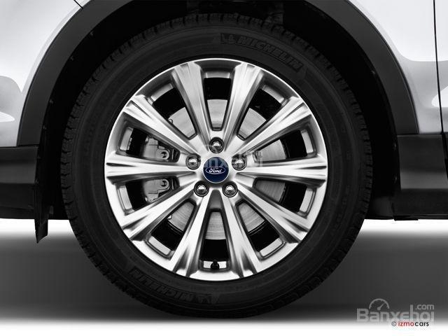 Đánh giá xe Ford Escape 2018: La-zăng hợp kim 19 inch