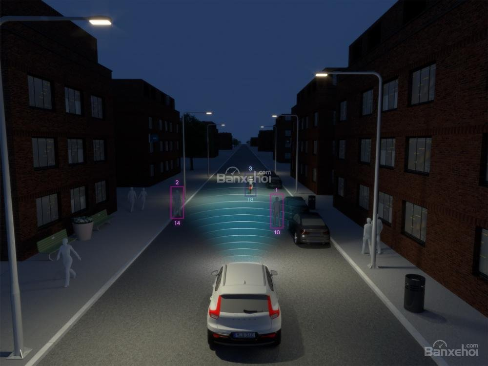 Đánh giá xe Volvo XC40 2018 về công nghệ an toàn 1