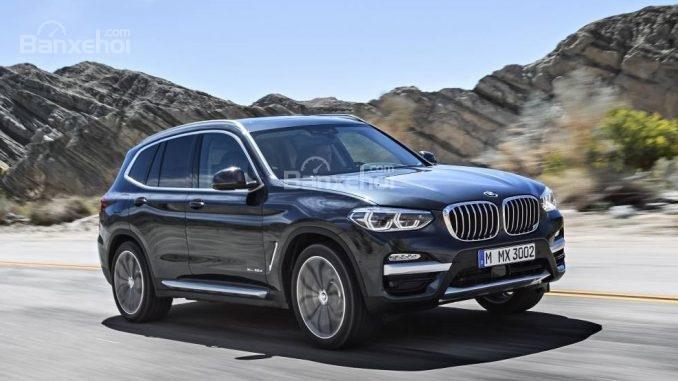 BMW X3 2018 thế hệ mới nhất có giá từ 1,56 tỷ đồng.