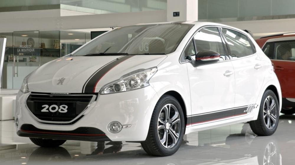 Giá xe Peugeot 208 mới nhất.