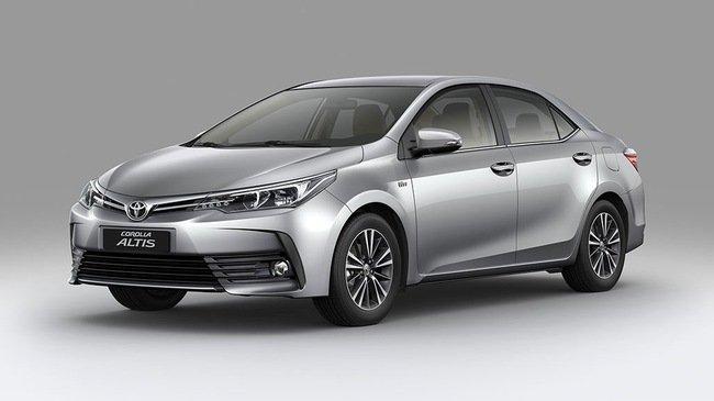 Hình ảnh Toyota Corolla Altis 2017 dành cho thị trường Việt Nama1