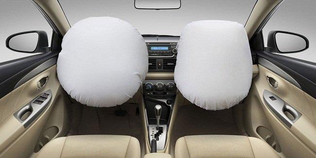 Túi khí xe Toyota Vios và Yaris