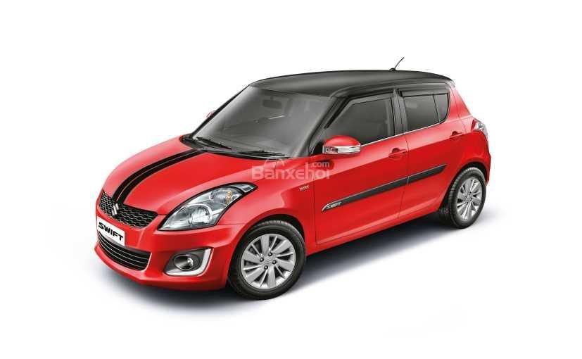 ô tô Suzuki Swift màu đỏ