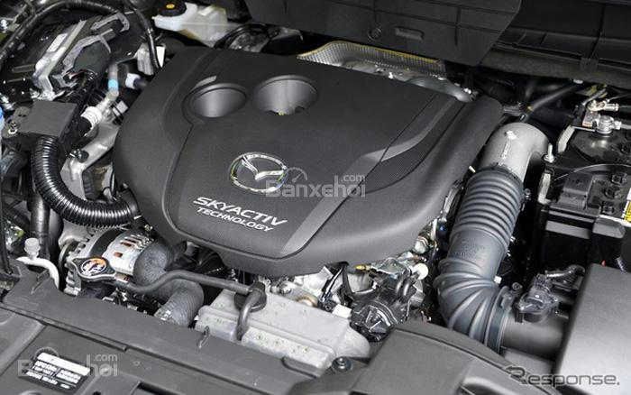 Mazda CX-8 2018 được trang bị động cơ diesel 2.2L