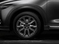Đánh giá xe Mazda CX-8 2018 về thiết kế thân xe: Bộ mâm có kích thước khá lớn
