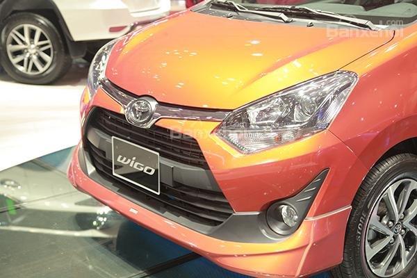 Hình ảnh đầu xe Toyota Wigo 2018
