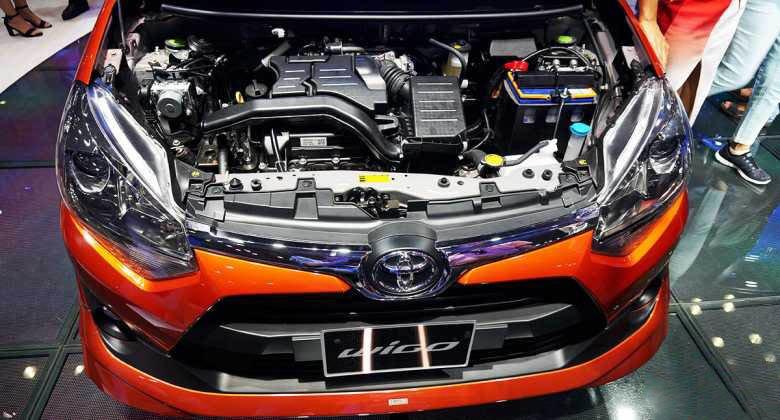 Ảnh chụp động cơ Toyota Wigo 2018