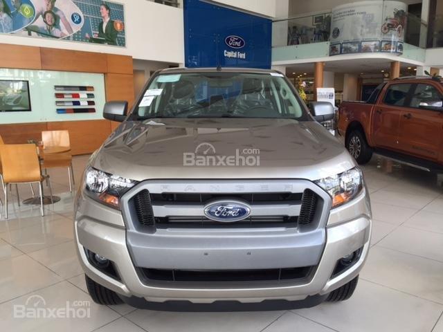 Ford Hưng Yên đại lý 2S bán xe Ford Ranger 1 cầu số sàn, số tự động giá chỉ từ 605tr, trả trước 130tr có xe lăn bánh (2)