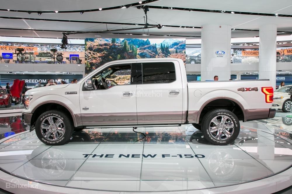 Đánh giá xe Ford F-150 2018 về thiết kế thân xe.