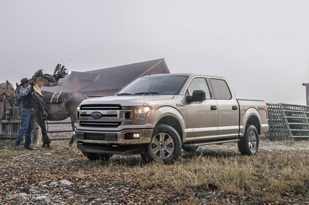 Đánh giá xe Ford F-150 2018: Sinh ra để ngự trị phân khúc bán tải cỡ lớn.