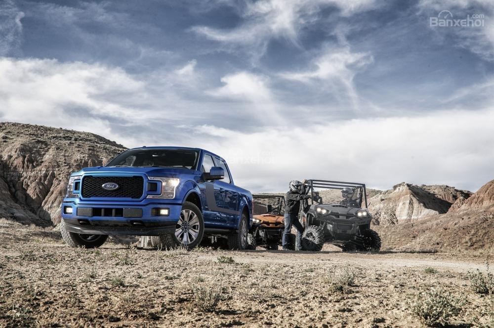 Đánh giá xe Ford F-150 2018: Mẫu bán tải toàn năng nhất trên thị trường.
