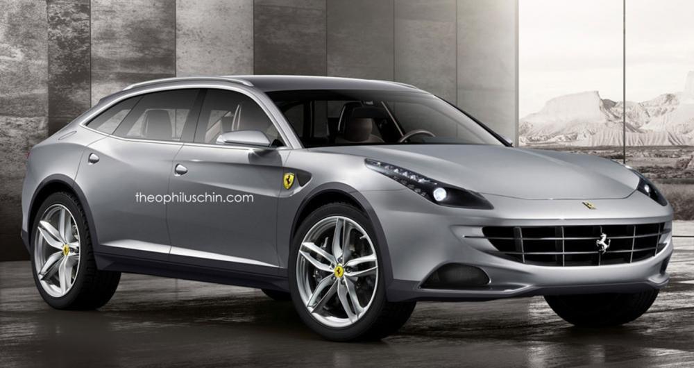 """Ferrari bắt đầu """"thò chân"""" vào phân khúc crossover."""