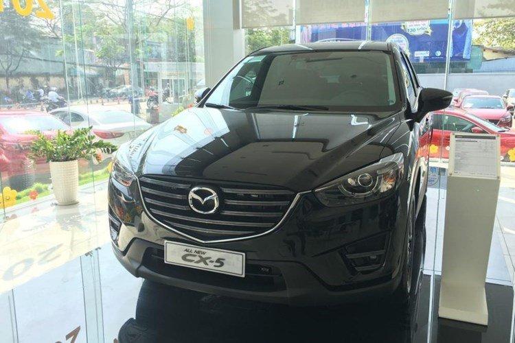 Mazda CX-5 đang đứng thứ 7 trong bảng xếp hạng xe ăn khách tháng 9.