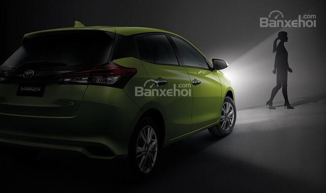 Đánh giá xe Toyota Yaris 2018: Sở hữu nhiều công nghệ an toàn.