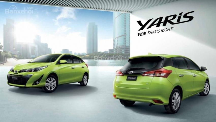 Đánh giá xe Toyota Yaris 2018: Xe sở hữu nhiều nâng cấp mới.