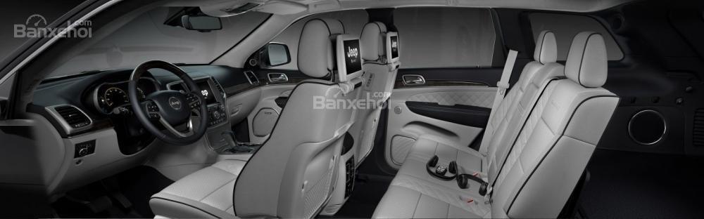 Hệ thống ghế ngồi Jeep Grand Cherokee 2017
