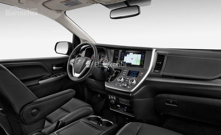 Toyota Sienta 2017 cung cấp nhiều tùy chọn hữu ích.