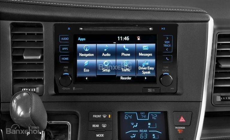 """Toyota Sienta 2017 phiên bản cơ sở cũng """"đáng tiền""""."""