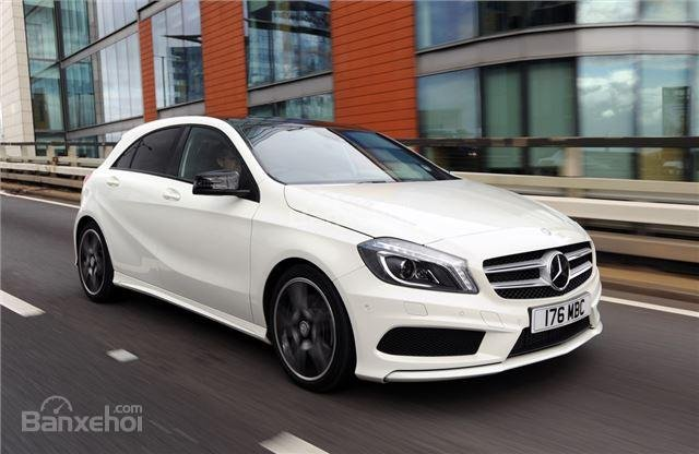 ô tô Mercedes-Benz A-Class màu trắng