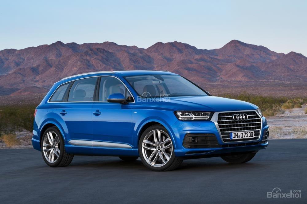Tìm hiểu ưu điểm của mẫu Audi Q7 2017.