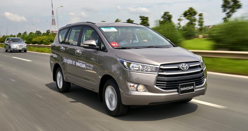 Toyota Innova sụt giảm doanh số trong tháng 9, nhưng vẫn lọt top xe ăn khách.