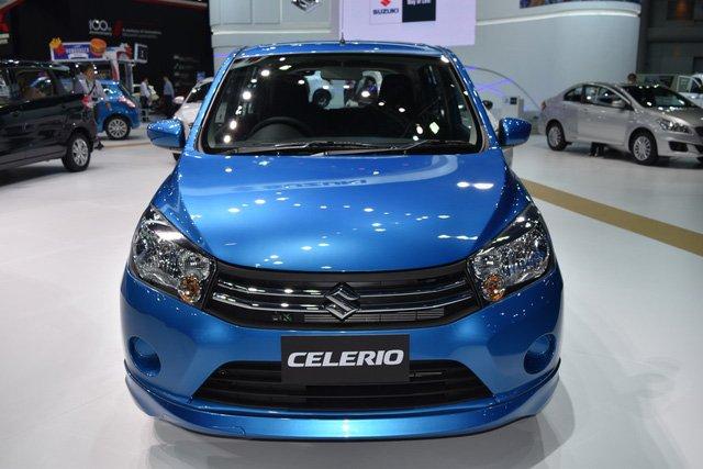 Ảnh chụp đầu xe Suzuki Celerio 2018