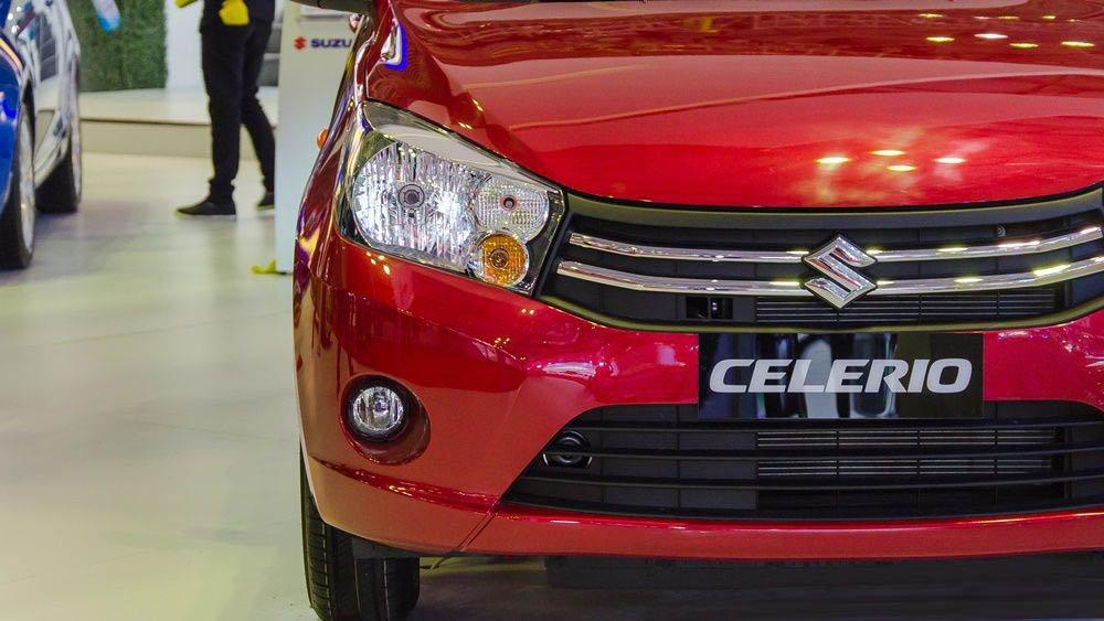 Ảnh chụp lưới tản nhiệt xe Suzuki Celerio 2018