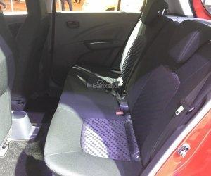 Hình ảnh ghế sau của Suzuki Celerio 2018