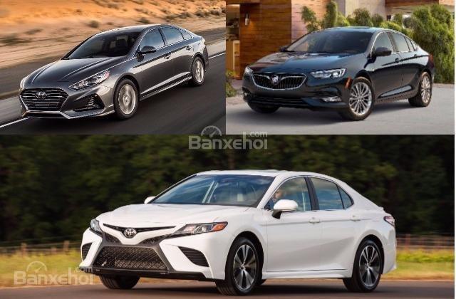 các mẫu xe đối thủ của Honda Accord 2018