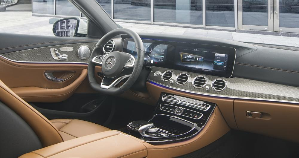 Hình ảnh nội thất Mercedes-Benz E 200