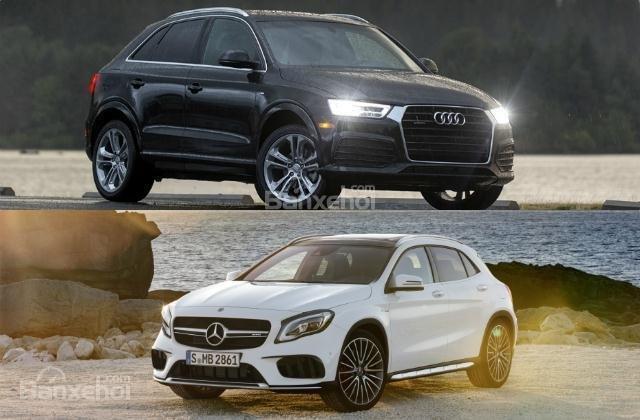 """So sánh xe Audi Q3 2018 và Mercedes-Benz GLA 2018: """"Mẹc"""" xuất sắc dẫn trước/"""