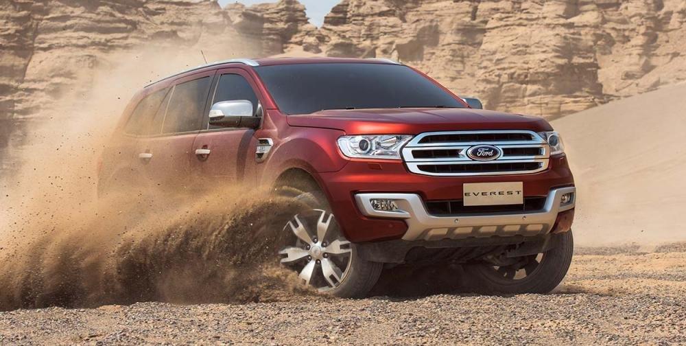Doanh số Ford Everest tháng 9/2017 đạt 47 xe, giảm 51 xe/